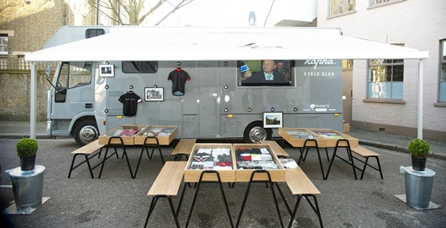 RAPHA MOBILE CYCLE CLUB BY BEN WILSON
