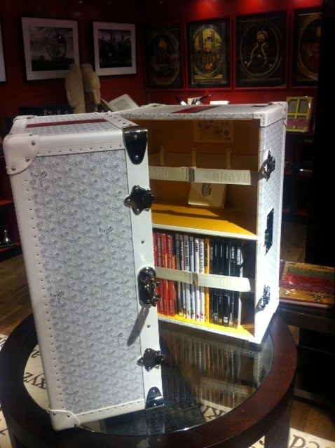 Goyard Book Trunk at Liberty