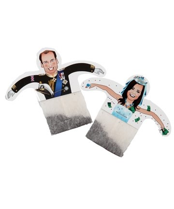 Novelty Kate and William Royal Wedding Teabags