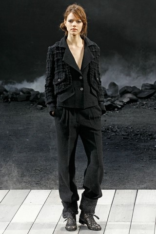Chanel A/W 2011, like a man