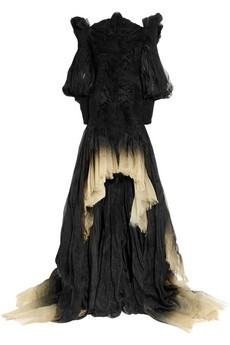 Alexander McQueen Degrade silk-organza dress