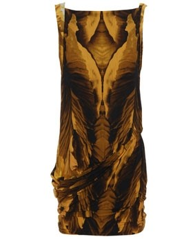 Alexander McQueen, 'Moth Wing' print Dress