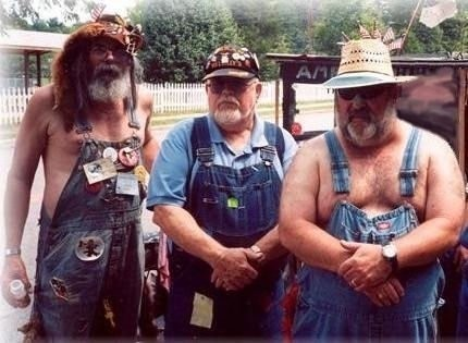 The good people of Wilkinsburg, Alabama in dungarees