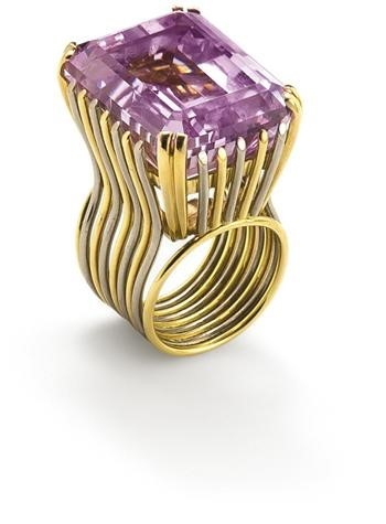 A 'Kunzite' Ring, by Nathalie Hambro