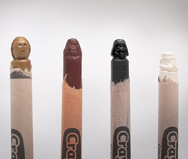 Star Wars Carved Crayons