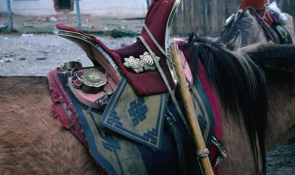 Mongolian Horse Saddle