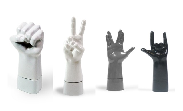 Hand Sign USB Drives