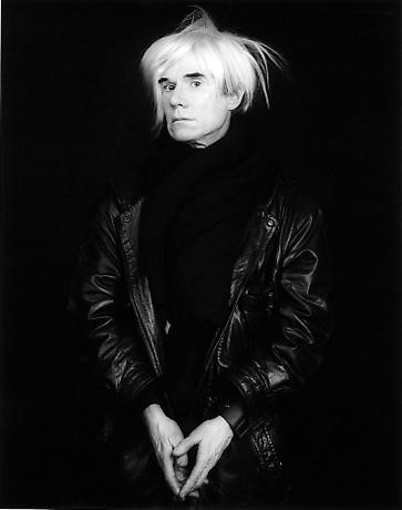 Andy Warhol by Robert Mapplethorpe (Polaroids)