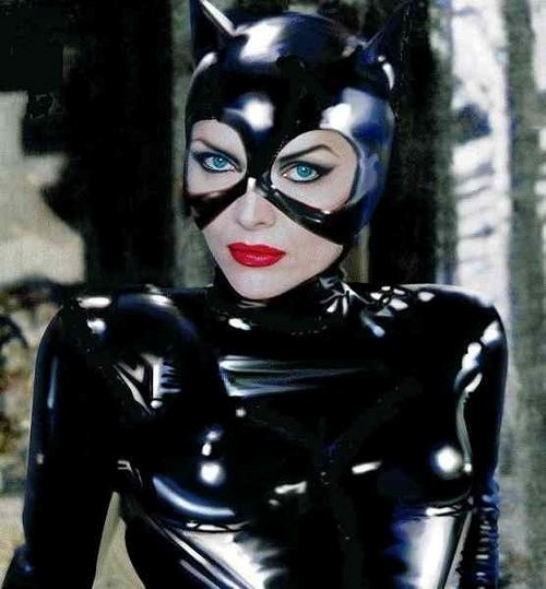 Michelle Pfeiffer's Catwoman outfit