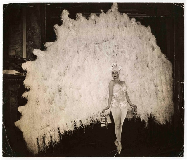 Ballerina Marina Franca in her peacock costume, April 18, 1941