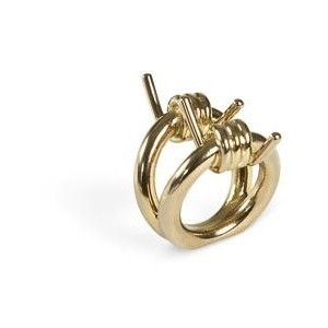 Burberry barbed wire ring