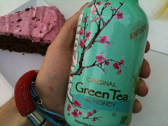 Arizona Iced Green Tea with Honey