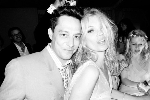 Photography by Terry Richardson at Kate and Jamie's wedding