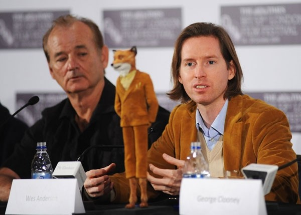 Wes and Bill discussing the Fantastic Mr.Fox