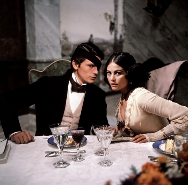 Alain Delon and Claudia Cardinale. Il Gattopardo