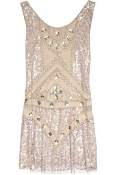 Anna Sui Embellished Dress
