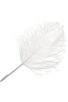 Maison Martin Margiela by L'ATELIER d'exercices ostrich feather pen