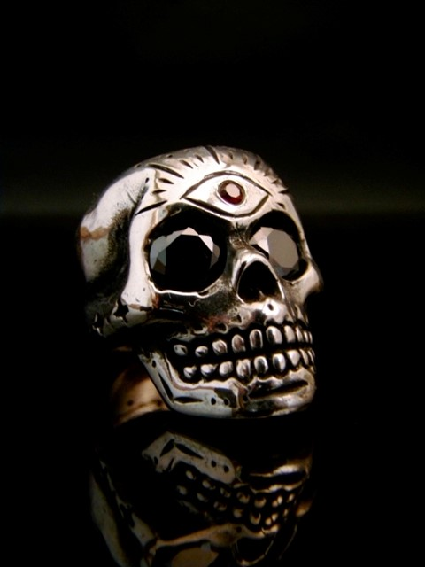 Memento Mori Ring by Nicholas Potash