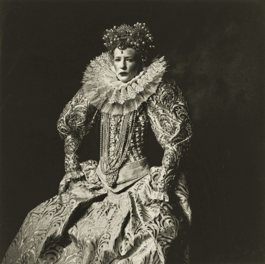 Cate Blanchett as Queen Elizabeth I, 2007