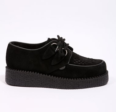 Creepers, Black Suede