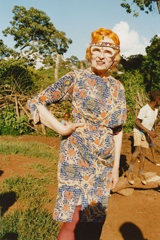 Vivienne Westwood's Ethical Fashion Africa collection