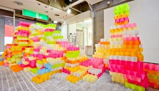 Post-it Structure by Tato Architects