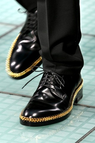 Raf Simons Spring 2012 lace ups