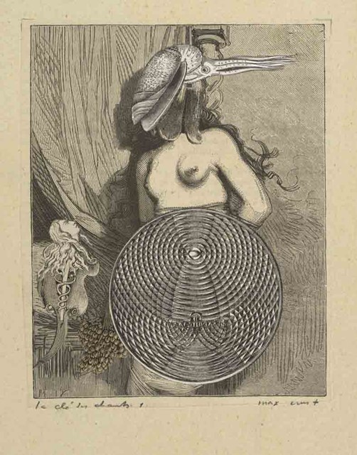 Max Ernst. Etchings.