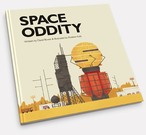 Space Oddity illustrated book