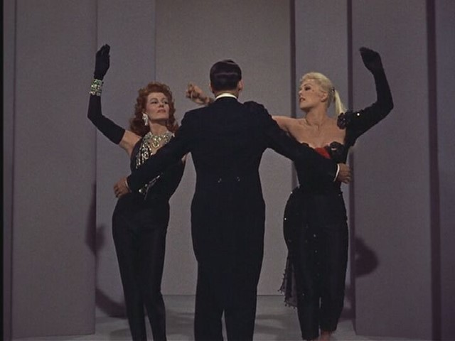 "Rita Hayworth and Kim Novak in ""Pal Joey"""