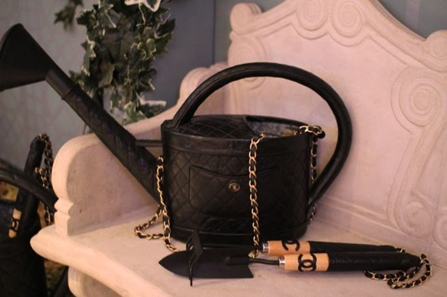 Chanel watering can