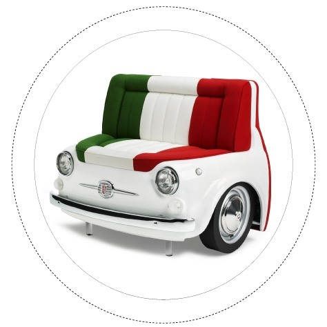 Fiat 550 Design | Panorama Sofa