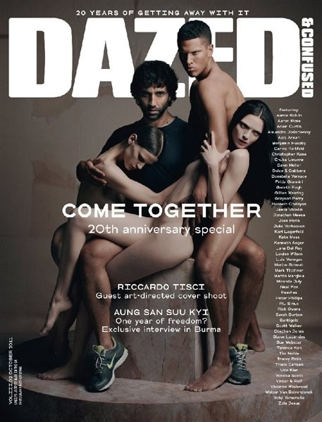 DAZED & CONFUSED'S 20TH ANNIVERSARY ISSUE