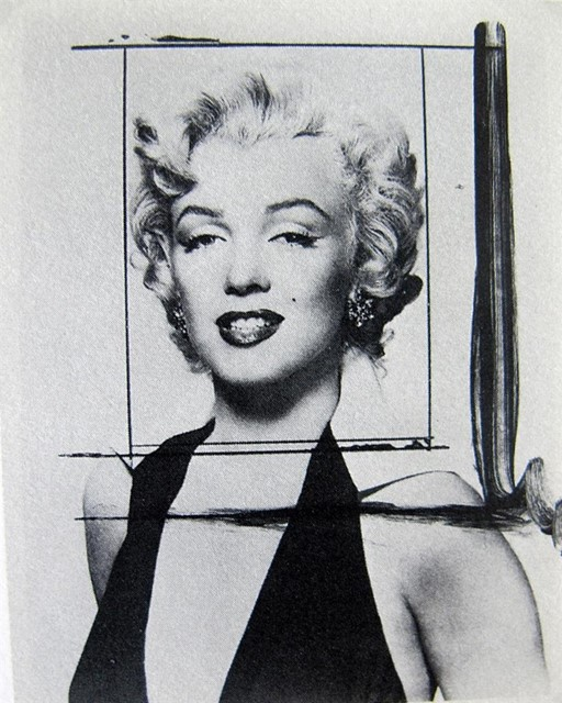 Andy's Crop of Marilyn