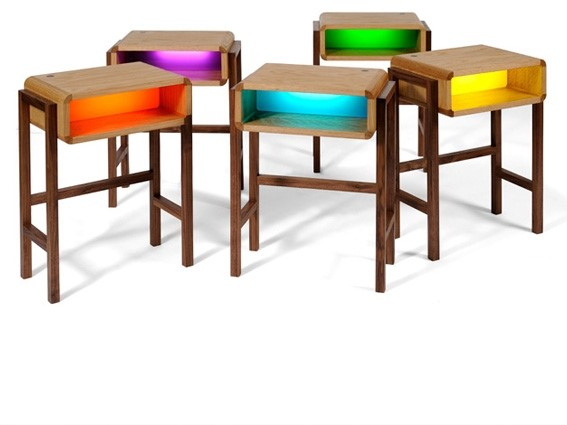 Nightlight Table by Charlie Crowther-Smith & Richard Bannister