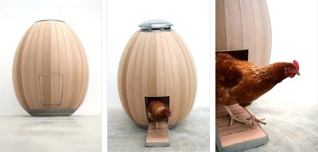 Mod Chicken Coop by Nadia Turan & Matthew Hayward