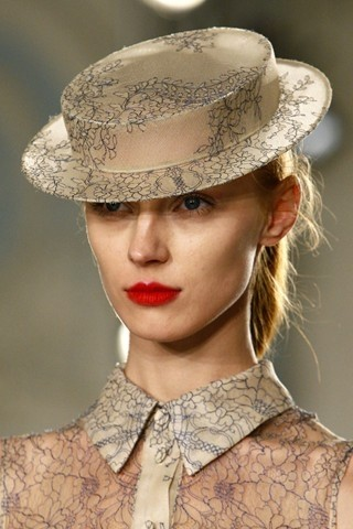 AW2012 Erdem Matching Hat and Shirt