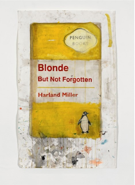 Harland Miller: 'Blonde but Not Forgotten'
