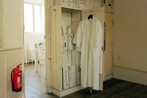 Maison Martin Margiela white coat