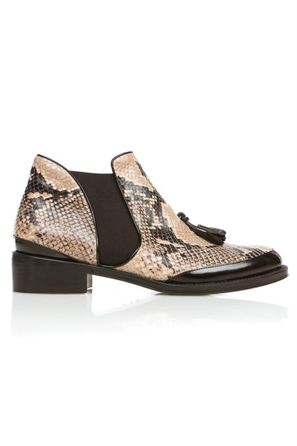 Proenza Schouler Python Ankle Boot
