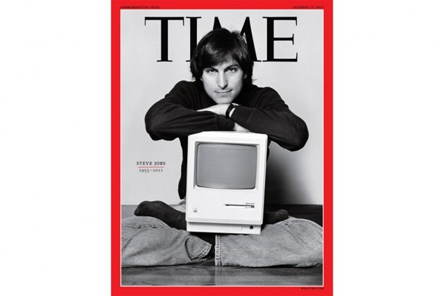 STEVE JOBS COVER OF TIME MAGAZINE