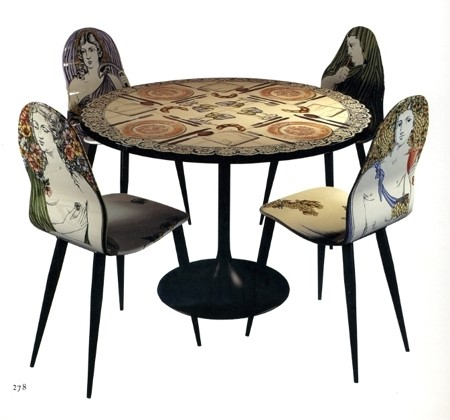 Fornasetti's always set table