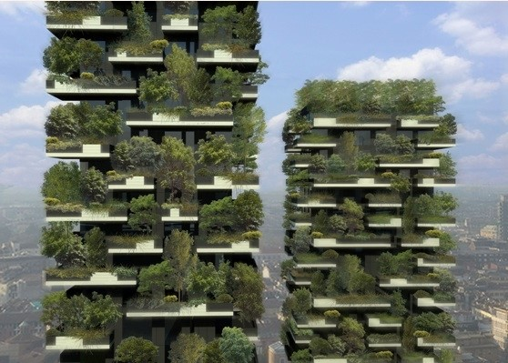 Bosco Verticale in Milan - the worlds first vertical forest