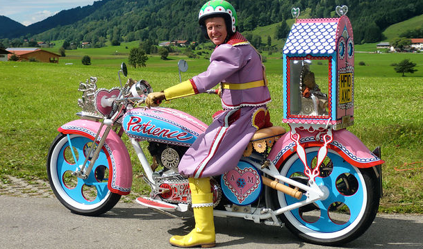 Grayson Perry's bike