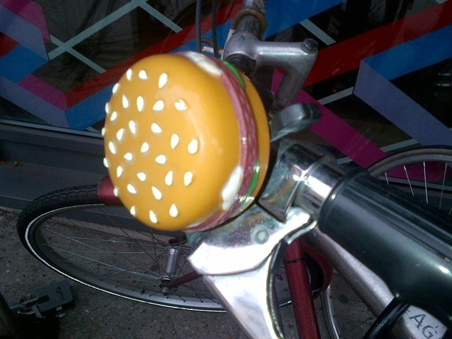 HAMBURGER BICYCLE BELL