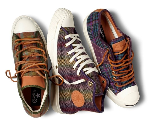 Dashing Tweeds collaboration with Converse