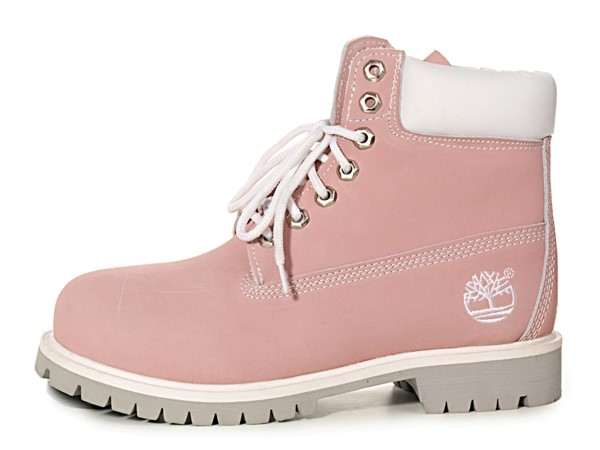 Timberland, Pink 6 inch Boots