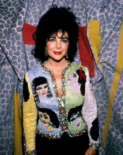 Elizabeth Taylor beaded Versace jacket on $ale!