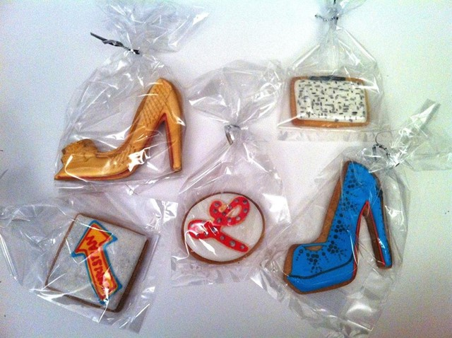 Christian Louboutin biscuits!