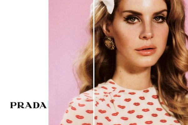 'Lana Del Rey for Prada'